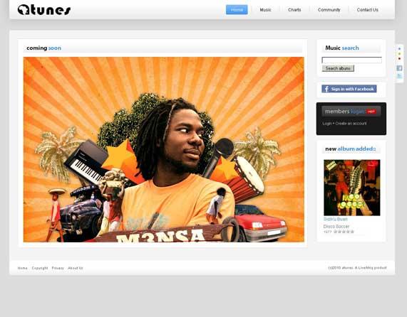 Social Music portal